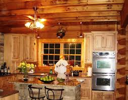 kitchen rustic kitchen design with rustic backsplash and wood