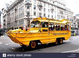 amphibious vehicle duck london duck tours amphibious vehicle stock photo royalty free