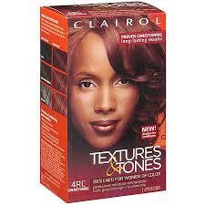 clairol textures tones permanent moisture rich hair color 4rc
