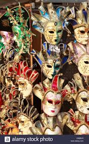 venice carnival costumes for sale venetian carnival masks on sale venice italy europe stock photo
