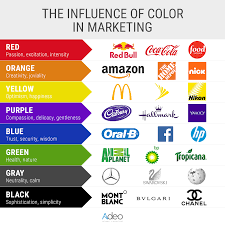 meaning of the color blue the influence of color in marketing