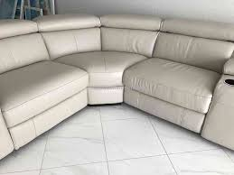 1 el dorado furniture james gray leather sofa review pissed consumer