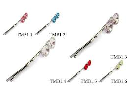 hair pins hair pins with swarovski elements from mont bleu bijoux hair pins
