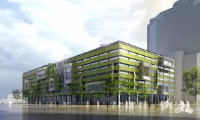 building concept hok vanderweil process zero concept building as green as