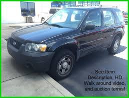 06 ford escape used 06 ford escape xls 2 3l i4 auto awd 4x4 suv black cloth cheap
