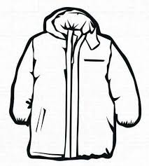 coat winter clothing coloring page coloring sun