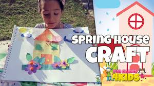 spring craft and activity for kids sweet home youtube
