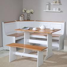 vanity dining room kitchen table nook set on regarding corner with