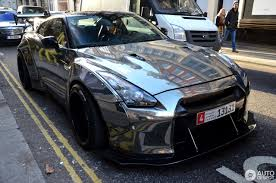 nissan gtr liberty walk blue nissan gt r liberty walk widebody 14 january 2017 autogespot