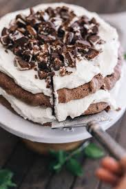 Door Is Whipped Mint By Chocolate Mint Pavlova Recipe By Culinary Creative Joanna Meyer