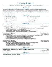 Communications Director Resume Resume Communications Resume
