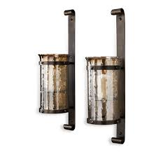 Candle Sconces Pottery Barn Amazing Of Rustic Candle Wall Sconces Images Of Rustic Candle