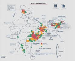 Punjab India Map by India Conflict Map