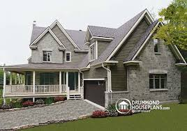 colonial house designs wraparound porch house with photos drummond house plans