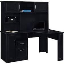 Corner Desks Staples Black Granite Yep My Kitchen Is Black White It Built