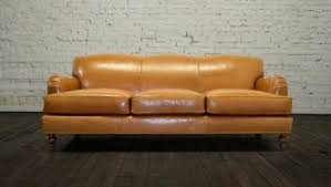 Brompton Leather Sofa Brompton Leather Sofa U2013 Interior Rehab