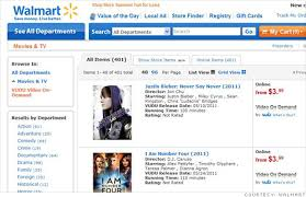 walmart com launches movie streaming with vudu jul 26 2011