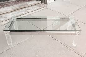 lucite waterfall coffee table the awesomeness of acrylic coffee table energiadosamba home ideas