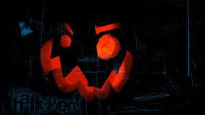 download wallpaper 1920x1080 halloween pumpkin lantern strips