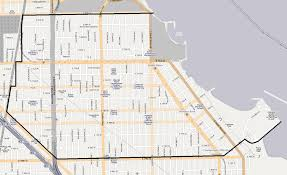 Zip Code Map Chicago by South Shore Chicago Wikipedia