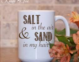 Salt In Coffee Salt In The Air Etsy