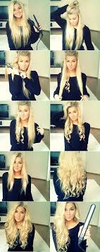 how to make flicks with a hair straightener best 25 flat iron curls ideas on pinterest curls with flat iron