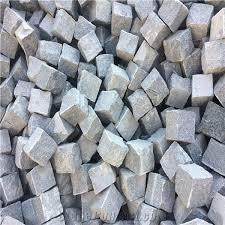 Granite Patio Pavers G654 Granite Cube G654 Granite Paving Grey