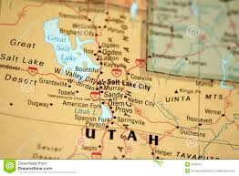 Maps Of Utah by Map Of Utah Stock Images Image 5033544