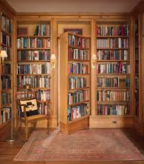 Secret Door Bookcase Hidden Door Bookcase Closet Hall Traditional With Bookcase