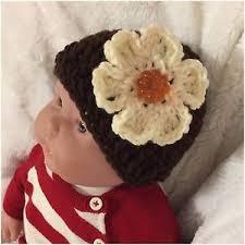 baby thanksgiving hat baby thanksgiving hat baby 3 9 month brown pumpkin flower hat