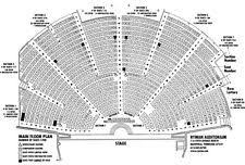 ryman seating map nashville tn ryman auditorium 8 00 pm 2 concert tickets ebay