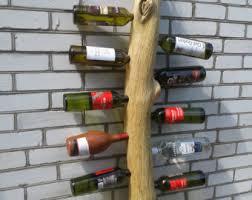 Oak Wine Cabinet Sale Vertical Wine Rack Etsy