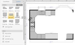 kitchen floorplans how to draw a floor plan with smartdraw