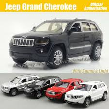 jeep cherokee toy 1 32 scale diecast alloy metal car model for jeep grand cherokee