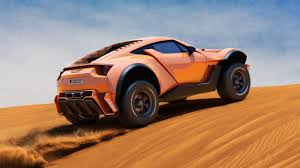 off road sports car supercar performance off the road meet the zarooq sand racer