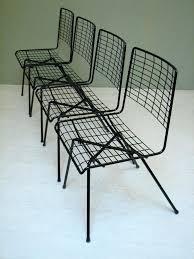 Mid Century Modern Outdoor Furniture Modern Iron Furniture U2013 Lesbrand Co