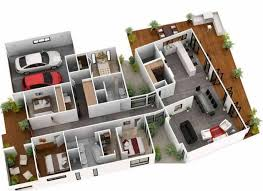 layout ruangan rumah minimalis 35 contoh gambar denah rumah minimalis 3 kamar tidur terbaru