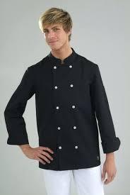 veste de cuisine pas cher noir vetement de cuisine discount veste de cuisine mixte manches
