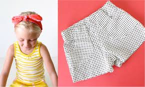 paper bag toddler shorts pattern pattern kid shorts ages 12 months to 10 years made everyday