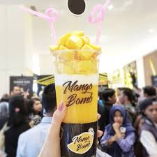Mango Bomb mango bomb pluit menu mango bomb pluit qraved