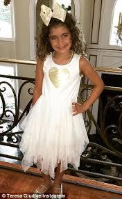 dresses for 11 year olds graduation teresa giudice celebrates gabriella s fifth grade