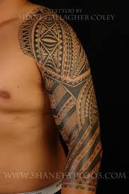 maori sleeve maori tattoo gallery tongan influenced polynesian fusion sleeve