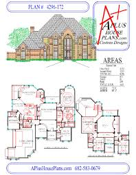 house plan 4296 172 traditional front elevation 4296 sqft two