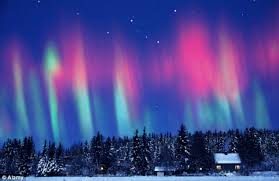 northern lights is our dream holiday destination daily mail online
