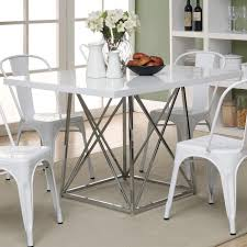 48 Dining Table by Monarch Specialties I1046 36 X 48 Dining Table In Glossy White