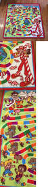 kids rugs nearly new kids play rug mat candyland theme bright