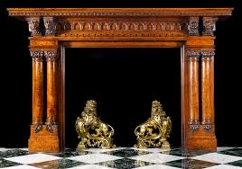 old wood fireplace mantels