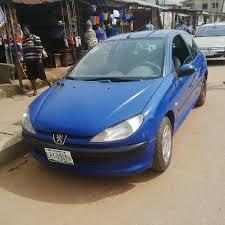 peugeot 2 door registered peugeot 206 2 door 2000 n380 000 00 autos nigeria