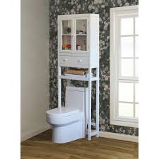 Over The Toilet Shelving Affordable Bathroom Over The Toilet Storage Cabinets Designs Ideas