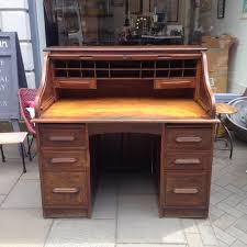 Roll Top Antique Desk Antique Oak Roll Top Desk The Consortium Vintage Furniture Antique